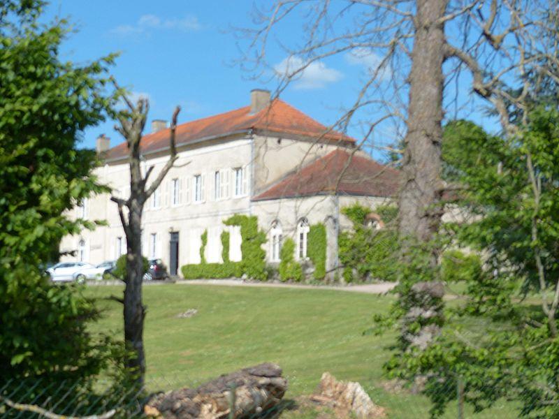 Broût-Vernet (Allier, France). Château de Fouranges.