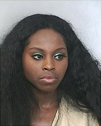Foxy Brown, Polizeifoto (2007)