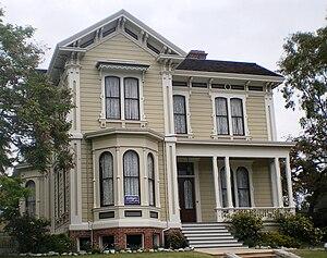 Ezra F. Kysor - Samuel C. Foy House, Los Angeles, CA. 1872.