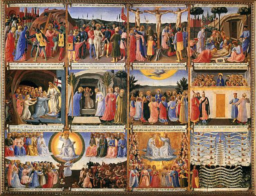 Fra Angelico - Scenes from the Life of Christ - WGA00604