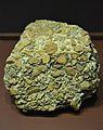 Fragment d'opus signinum, cova Foradada (Llíria), museu de Prehistòria de València.JPG