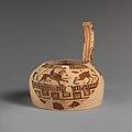 Fragment of a terracotta oinochoe (jug) MET DP114676.jpg