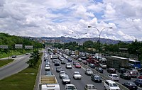Francisco Fajardo Highway in Chacao Municipality
