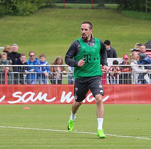 Franck Ribéry - Ribéry training with Bayern Munich in 2017