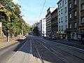 Francouzská, zastávka Ruská, pohled k Ruské ulici.jpg