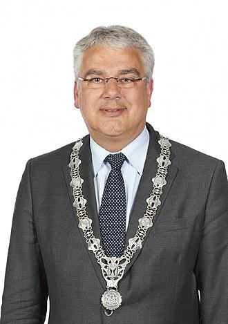 College van burgemeester en wethouders - A Dutch mayor (Frank Koen, Municipality of Capelle aan den IJssel, 2010)