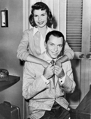 The Frank Sinatra Show (1957 TV series) - Frank and Nancy Sinatra at a rehearsal, 1957