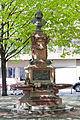 Frankfurt Am Main-Holzgraben-Stoltze-Brunnen von Suedosten-20100424.jpg