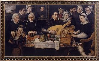 Frans Floris - Family portrait
