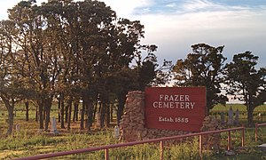 National Register of Historic Places listings in Jackson County, Oklahoma - Image: Frazer cemetery