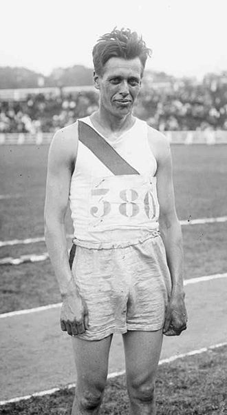 Fred Faller - Fred Faller at the 1919 Inter-Allied Games