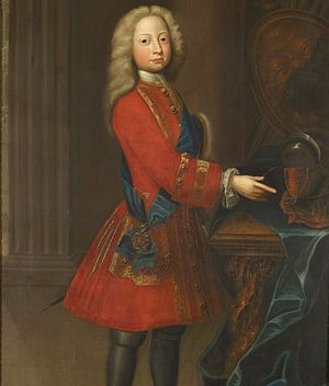 Frederick, Prince of Wales - Prince Frederick, ca. 1720.