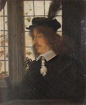 Frederick III of Denmark - Image: Frederik 3 by window