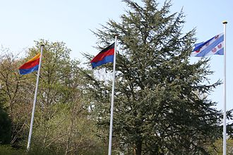Flags of Frisia - Image: Friesenbeflaggung