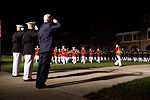 From left, U.S. Marine Corps Col. Christian Cabaniss, the commanding officer of Marine Barracks Washington; Gen. James F. Amos, the commandant of the Marine Corps and the host of the Evening Parade 130531-M-KS211-342.jpg