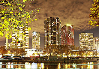 15th arrondissement of Paris - Front de Seine Skyline