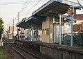 Fukushima Kotsu Iizaka Line Iwashiro-Shimizu Platform.jpg