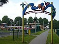 Funfair at Faversham Recreation Ground looking towards Park Road - geograph.org.uk - 812975.jpg