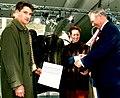 Furrier Fahnenstich Recklinghausen gets a gold-medal, 1995.jpg