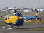 G-ENVO Bolkow 105 Helicopter (25892033586).jpg