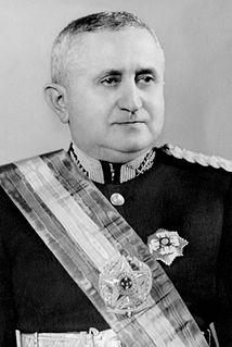 Eurico Gaspar Dutra president of Brazil from 1946 to 1951