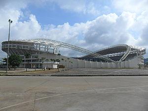 2013 Indonesia Super League - Image: GOR Aji Imbut