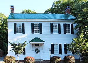 Abingdon Historic District - Gabriel Stickley House, Abingdon, VA