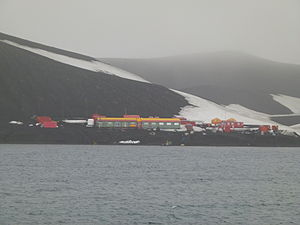 Deception Island - The Spanish ''Gabriel de Castilla'' Base