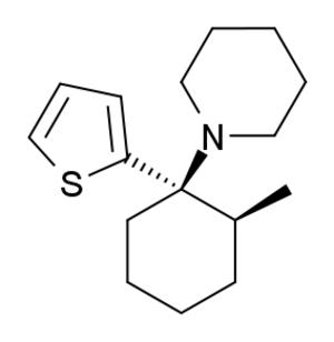 Gacyclidine - Image: Gacyclidine