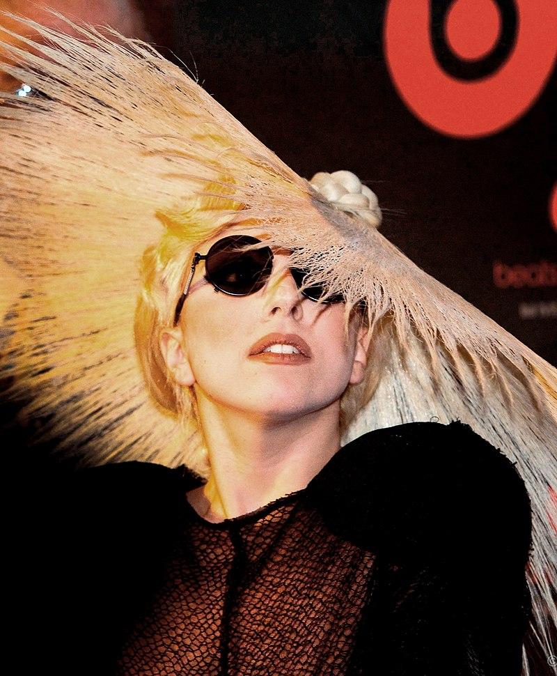Леди Гага на мероприятии «Monster Booth»