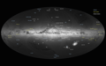 Gaia's first sky map, annotated.png