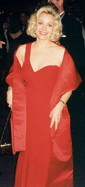 Gail O'Grady - Gail O'Grady at the Emmy Awards in 1994