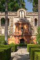 Garden of the Alcoba's arbour real alcazares Seville Spain.jpg
