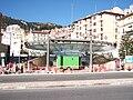 Gare de Monaco-Facade travaux.JPG