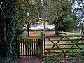 Gates to a country churchyard - geograph.org.uk - 1008484.jpg