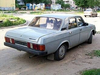 GAZ-31029 - GAZ-31029 rear