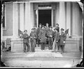 Gen. Charles Devens and staff of nine - NARA - 524590.tif