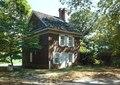 General view looking from the southwest (duplicate of HABS No. PA-184-7) - Letitia Street House, Lansdowne Drive, West Fairmount Park, Philadelphia, Philadelphia County, PA HABS PA,51-PHILA,45-13 (CT).tif