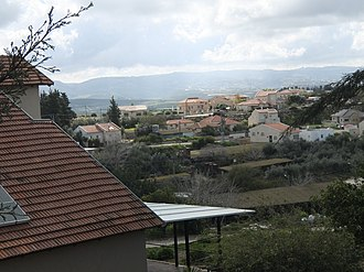 Aderet, Israel - Image: General view of Aderet, March 2015