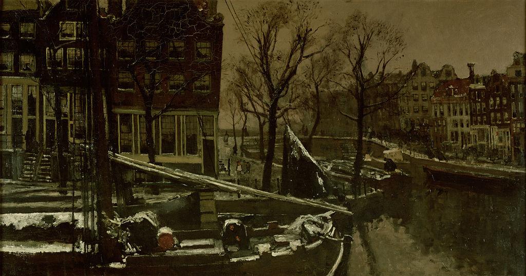 L'hiver à Amsterdam vu par George Hendrik Breitner