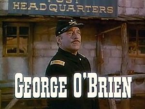 George O'Brien (actor) - O' Brien in She Wore a Yellow Ribbon, 1949