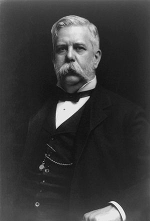 War of the currents - The American entrepreneur and engineer George Westinghouse introduced a rival AC-based power distribution network in 1886.
