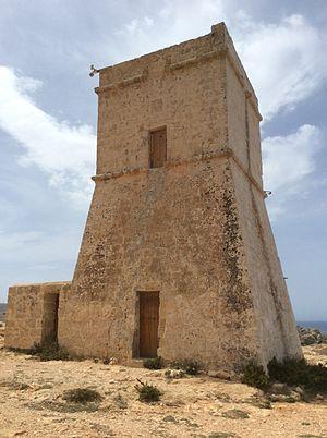 Għajn Tuffieħa Tower - Għajn Tuffieħa Tower