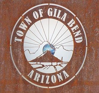 Gila Bend, Arizona - Image: Gila Bend Town of Gila Bend