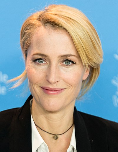 Gillian Anderson, American film, television and theatre actress, activist and writer