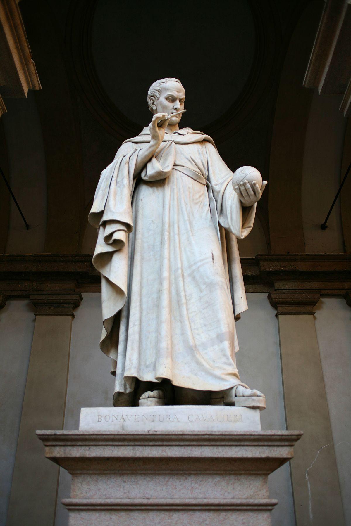 Monumento a bonaventura cavalieri wikipedia for Accademia di milano