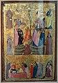 Giovanni baronzio, crocifissione, sepoltura e discesa al limbo con santi, 1330 ca. 01.jpg