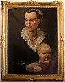 Giovanni maria butteri (attr.), ritratto di donna con bambino.jpg