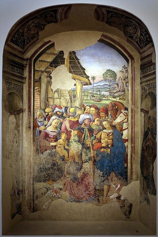 Giovanni Maria Tolosani, Adorazione dei Magi, 1522