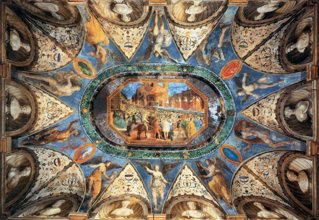 File girolamo genga pesaro villa imperiale camera dei for Camera dei
